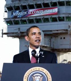 Obama Mission Accomplish parody