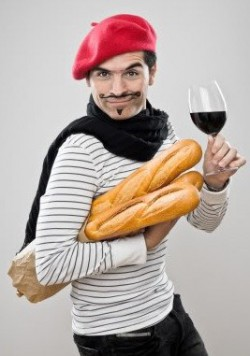 Mime with a Baguette