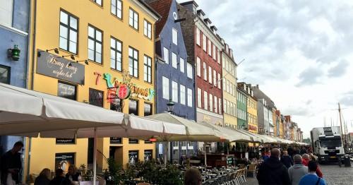 Copenhagen, Denmark - Nyhavn area
