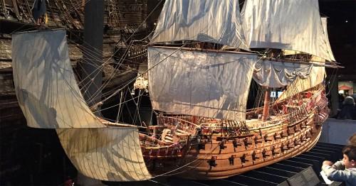 Stockholm, Sweden - Vasa Viking Ship museum